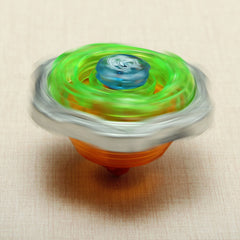 Colorful Constellation Gyro Spinning Top with Launcher Children Toy