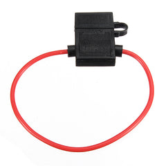 200x3.3mm 14 Gauge ATC Fuse Holder In-line AWG Wire Copper 12 Volt Power Blade