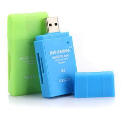 High Speed USB 2.0 All in 1 Memory Multi-Card Reader SDHC MS/SD/TF