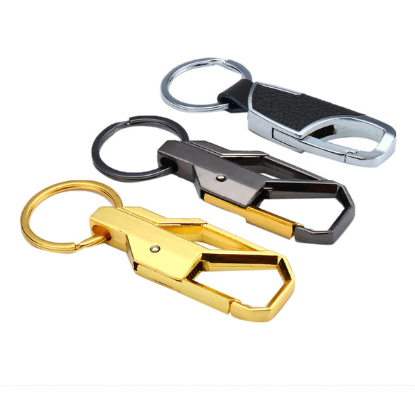 Buckle Carabiner Keychain Car Motorcycle Key Ring Clip