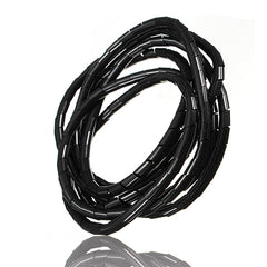 2M Spiral Wire Wrap Tube Manage Cord for PC Computer Home Cable 4-50MM