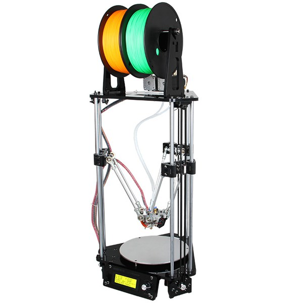 DIY Geeetech Delta Rostock Mini G2s Dual Extruder 3D Printer Kit With Auto-leveling