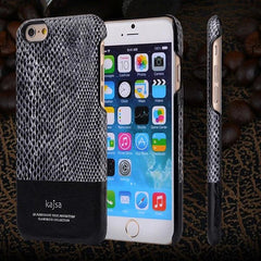 Kajsa Snake Skin PU Full Grain Leather Protector Cover For iPhone 6