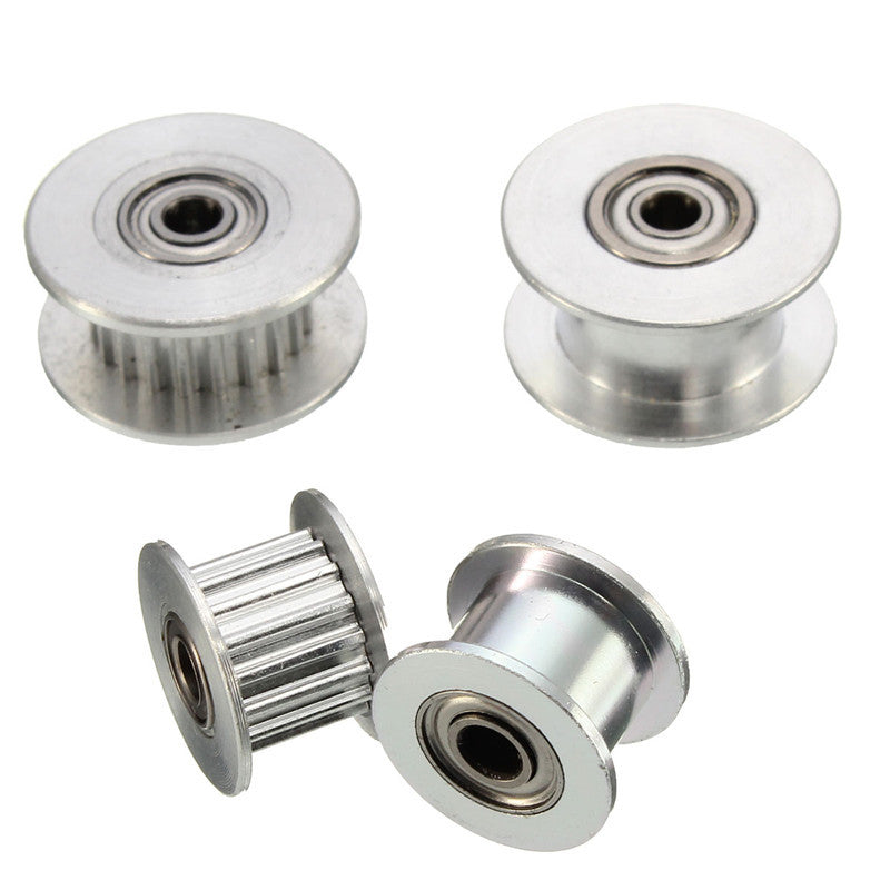 16T-20T GT2 Aluminum Timing Drive Pulley For DIY 3D Printer With-Without Tooth