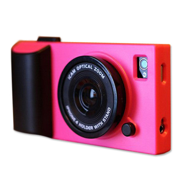 Three-dimensional Telescopic Lens Camera Pattern Case For iPhone 5