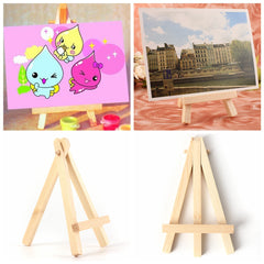 Mini Wood Artist Easel Wedding Number Place Name Card Stand Display Holder