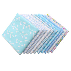 10x Mult-Size Cotton Fabric Patchwork Batiks Mixed Bundle Sewing Quilting Craft