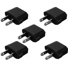 5XEU To US Travel Charger Adapter Plug Outlet Converter