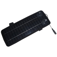 Car Camper Battery Charger Single Crystal Solar Panel High Conversion Efficiency 4.5W 12V