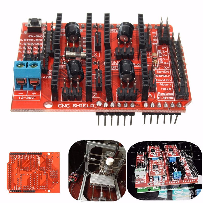 DIY CNC Shield Expansion V3 A4988 Board Module Driver For Arduino 3D printer