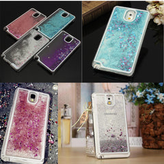 Glitter Bling PC Case Cover Quicksand Style For Samsung Galaxy Note3 N9000
