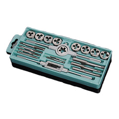 20pcs M3-M12 Screw Thread Metric Plugs Taps Tap wrench Die Wrench Set