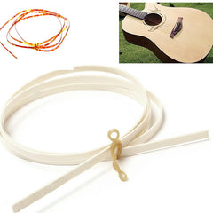 Guitar ABS Celluloid Bindings Purfling Edging Strips 1650mm Brown & Ivory