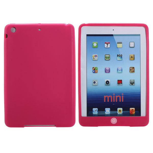 Colorful TPU Soft Bean Gel Protective Case Cover For iPad Mini