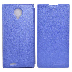 Silk Pattern Flip Leather Protective Case For DOOGEE DG550 DG550e