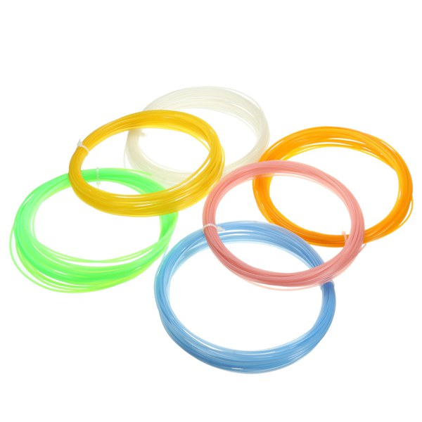 1Pc Luminous 10M 1.75mm PLA 3D Printer Filament For RepRap Pen