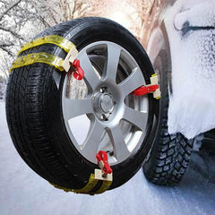 Rubber Automobiales Snow Rain Road Tire Anti Skid Chains for Car Truck Wheel Tyre