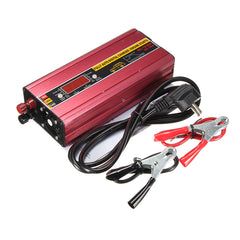 12V 36A Fully Smart Motorcycle Automatic Digital Charger Car Power Supply