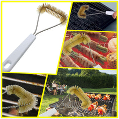 BBQ Barbecue Cleaning Brush Cleaner Handle Grill Brush