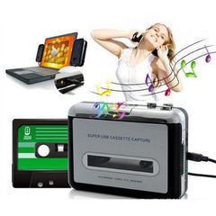 Tape to PC Super USB Cassette-to-MP3 Converter Capture