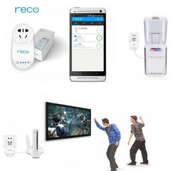 Reco WiFi RP200 Smart Plug Remote Control Switch For iPhone Smartphone