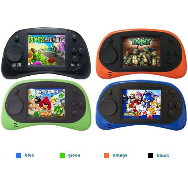 Coolboy RS-8 8Bit 2.5inch Screen Built-in 260 Different Classic Games Handheld Game Consoles with AV