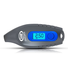 High Precision Digital Display Vehicle Tire Pressure Gauge 4 Tire Test Units Blue Night Light Screen