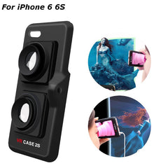 Portable Virtual Reality 3D VR Hard Back Case For iPhone 6 6s 4.7 Inch