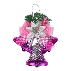 Christmas Tree Decoration Pink Bell Hang