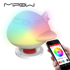 MIPOW BTL302 PLAYBULB Zoocoro Smart Lights Speakers LED Animal Shapes Wireless Charge Dimmable Floor Night Lamp Decor for Kids Christmas Gifts
