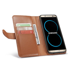 Bakeey™ Detachable Magnetic PU Leather Card-Slots Zipper Wallet Case for Samsung Galaxy S8 Plus