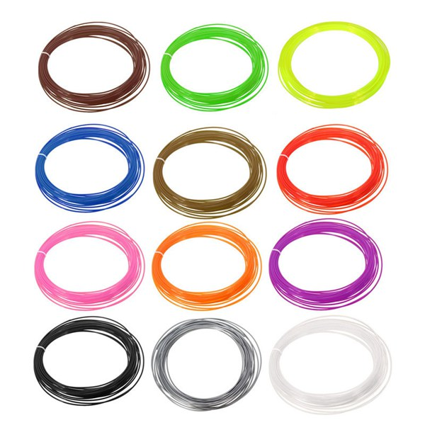 1Pc 1.75MM 10 Meter Length PLA Filament For 3D Printer Accessories