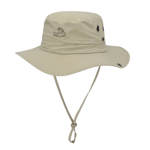 PELLIOT Bucket Hat Man and Woman Outdoor Sweat Absorption Breathable Adjustable Sunshade Hat Camping Hiking Fishing Bucket Hat