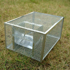 Metal Live Mouse Trap Cage Animal Mice Rat Control Catch