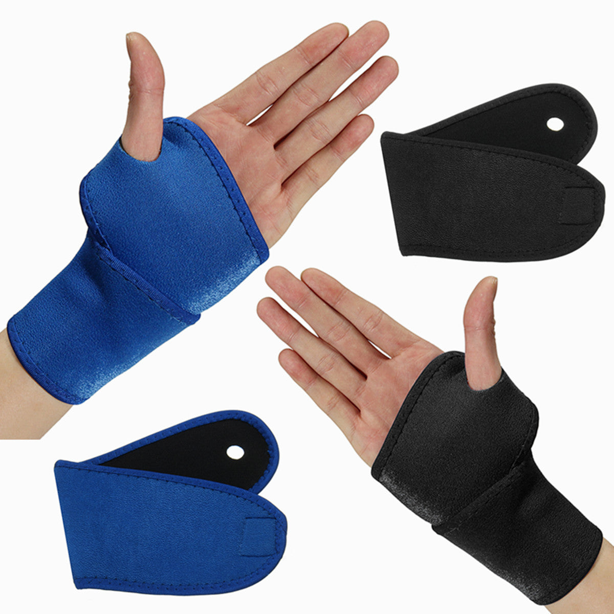 Wil je alles weten over Sports Adjustable Wrist Palm Wrap Guard Band Neoprene Brace Support Gym Sprain Strain Strap? Hier lees je alles over Sports Protective Gear