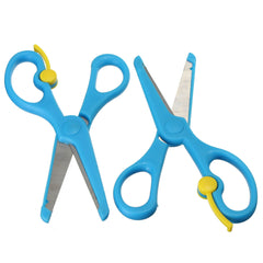 2Pcs Safety Paper Cutting Scissors DIY Art & Craft Card Making Tool