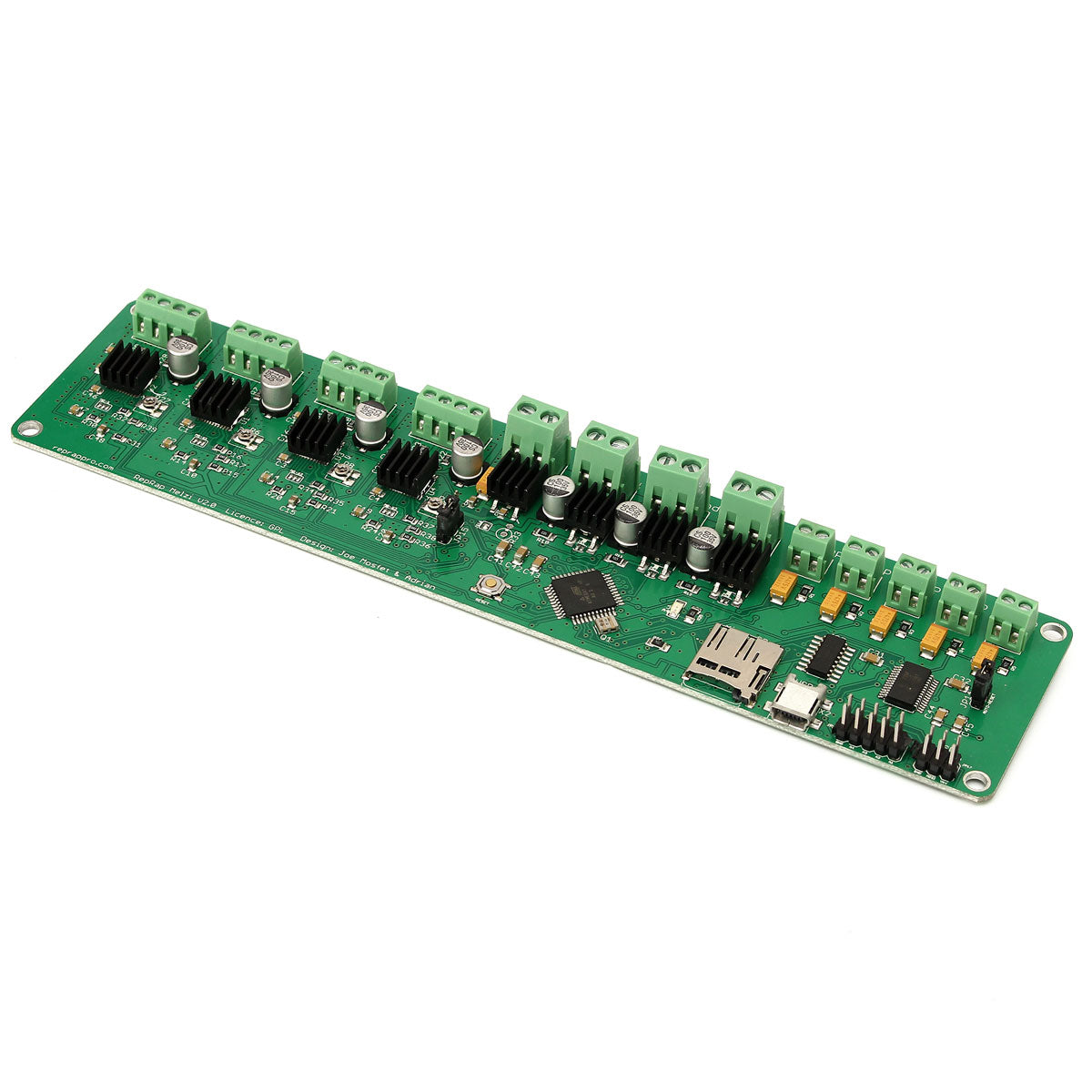 1284P Reprap Mainboard Circuit Board 3D Printer Controller