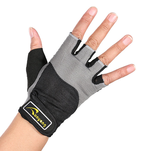 Wil je alles weten over Mumian F03 Gym Cycling Fitness Half Finger Sports Gloves – 1 Pair? Hier lees je alles over Fitness Protective Gear Sports & Outdoor