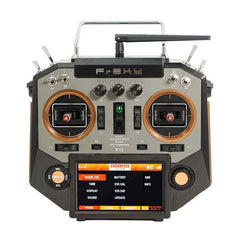 FrSky Horus X10 16 Channels Transmitter Mode 2 Left Hand Throttle Sliver & Amber Color