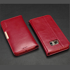 KALAIDENG Genuine Leather Stand Case For Samsung Galaxy S6 edge