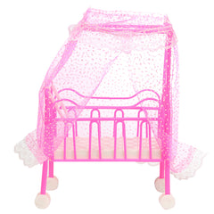 Dollhouse Furniture Infant Bed Room Set Toys For Doll