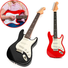 Practice Simulation Electric 6 String Guitar Gift Toys for Kid Children