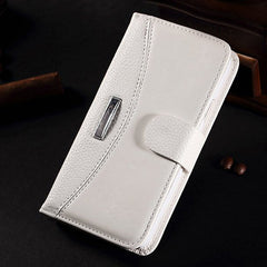 Crazy Horse Grain Litchi Pattern Wallet Case For Samsung S5 i9600