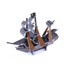 3D Paper Jigsaw Puzzle The Black Pearl Mini DIY Model B668-20