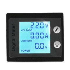 AC80V-260V 100A Digital Power Energy Meter Voltage Tester Ammeter Voltmeter Transformer