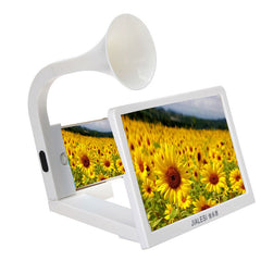 3D Movie Mobile Phone Enlarged Expander Screen Magnifier Amplifie with Loud Speakers For iPhone 5 6S