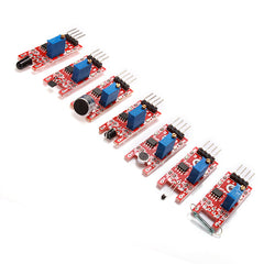 Geekcreit® 37 In 1 Sensor Module Board Set Kit For Arduino Carton Box Package