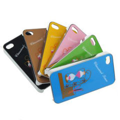 Printing Iphone 4 4s Plating Hard Back Cover Case