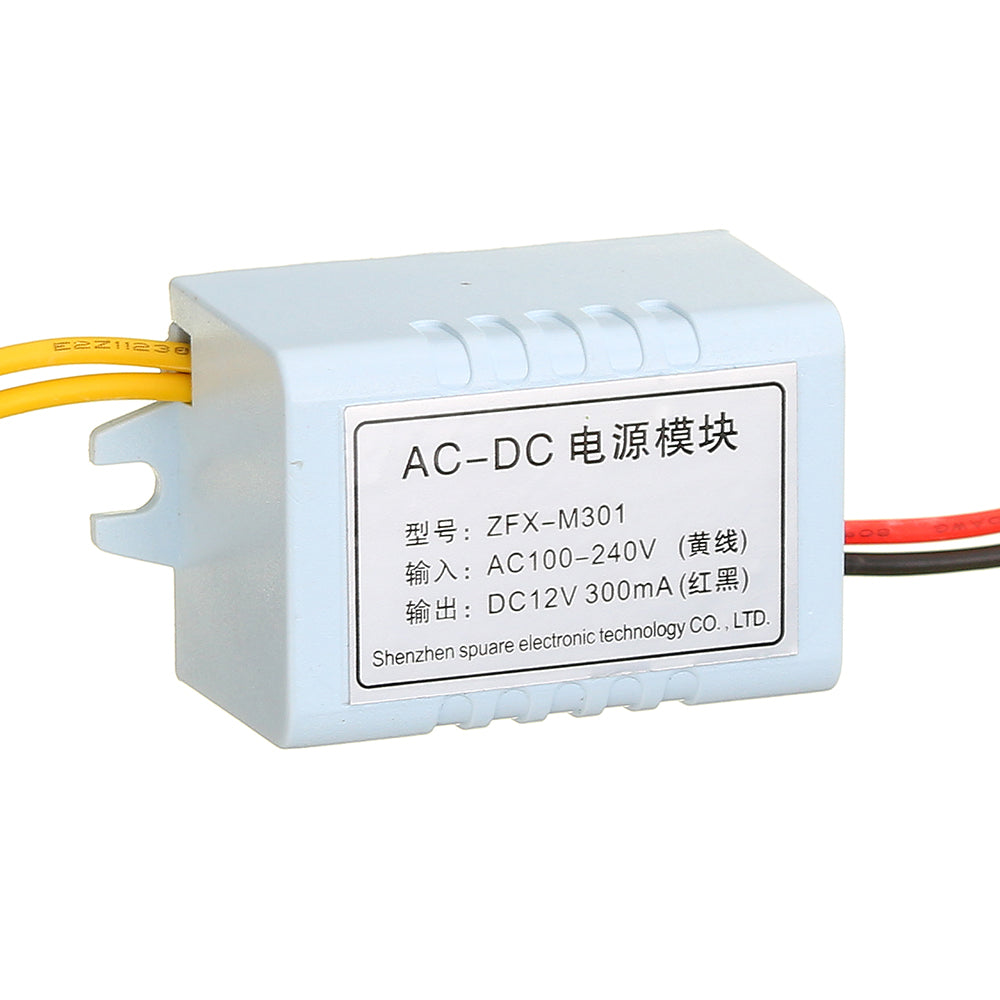 XH-M301 Wisselstroomadapter AC-DC Voedingsmodule AC100-240V Naar DC12V