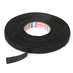 Car Wiring Loom Harness Adhesive Cloth Fabric Tape Cable Loom 9mm x 25M Black
